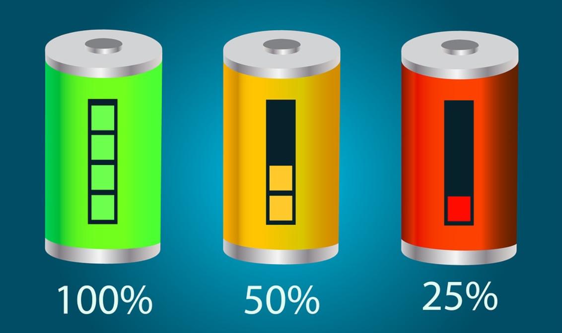 barevné baterie