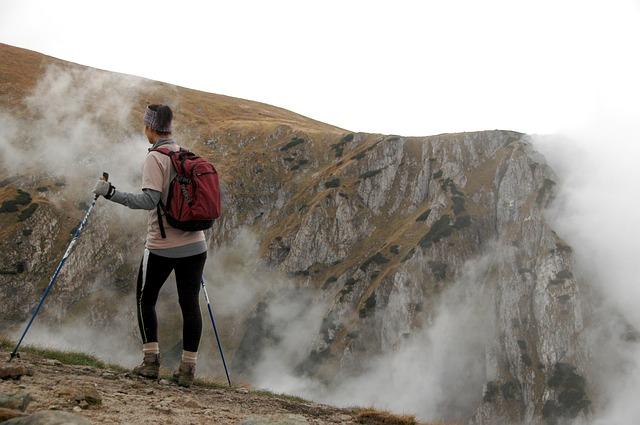 nordic walking v horách