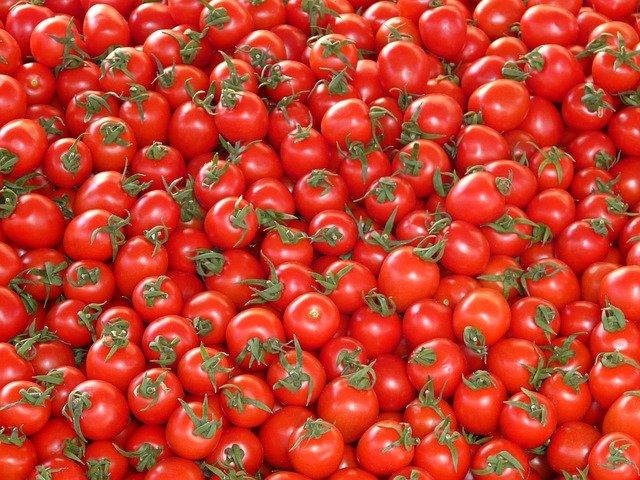 hromada rajčat