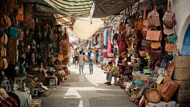 venkovní tržiště