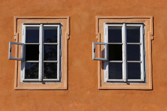 otevřená okna